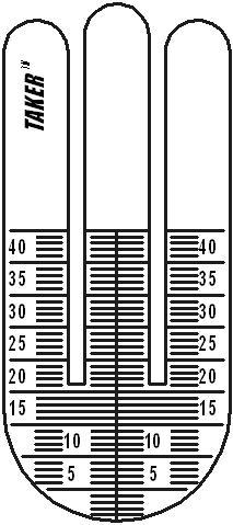 Измерения расстояния схема